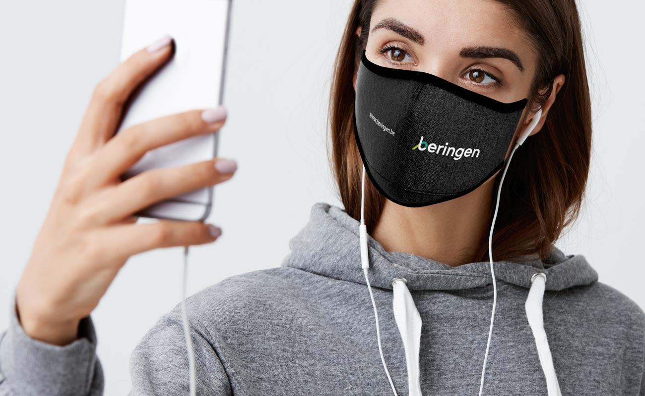 Denim - Custom Facemask