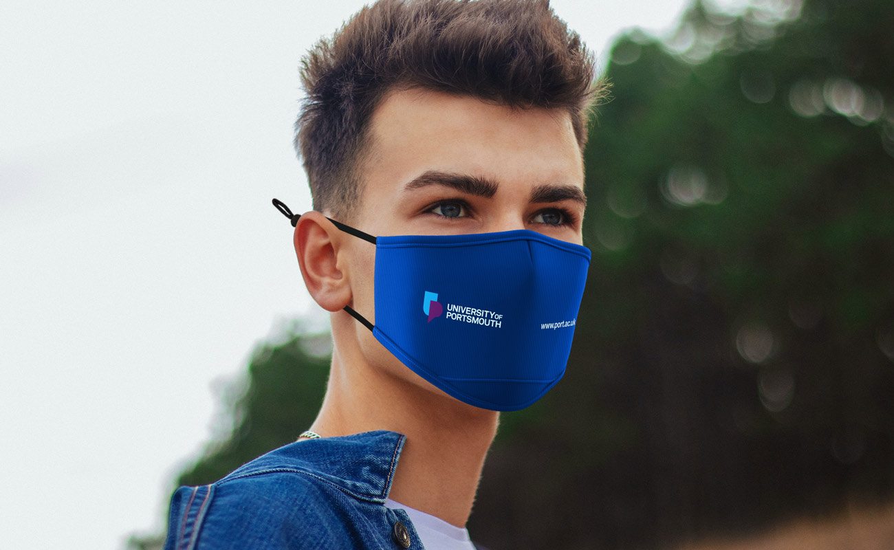 Junior - Logo Facemasks